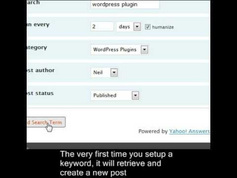 WP answers! Wordpress Yahoo Answers Plugin