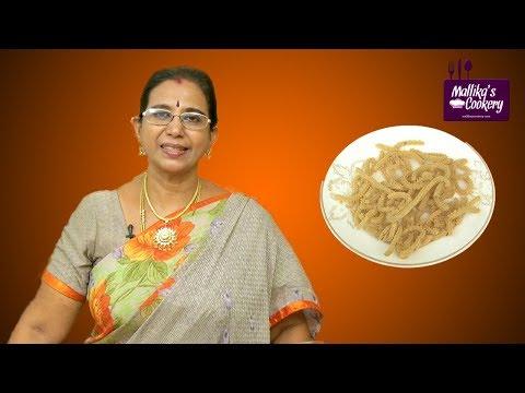 Thinai Murukku | Mallika Badrinath | Indian Savoury Snack