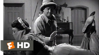 Abbott and Costello Meet the Mummy (1955) - Finding the Medallion Scene (3/10) | Movieclips