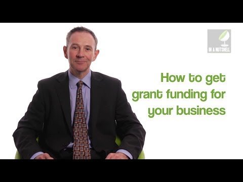 How to get grant funding for your business - In a nutshell