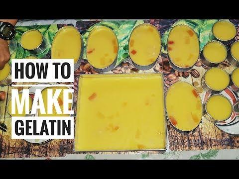 How to Make Gelatin | Pinoy Dessert