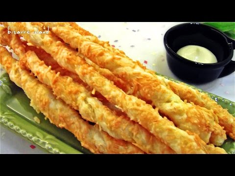 4 Ingredient Easy Cheese Twist aka Cheese Straws | d for delicious