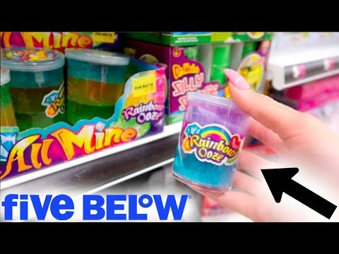 $1 SQUISHIES + SLIME AT FIVE BELOW!