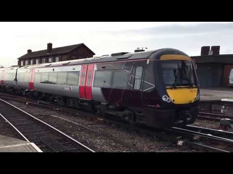 Cross Country 170110 At Derby From Nottingham To Cardiff Central