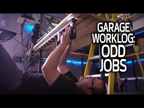 ODD JOBS and Spring Cleaning - Garage Worklog 15