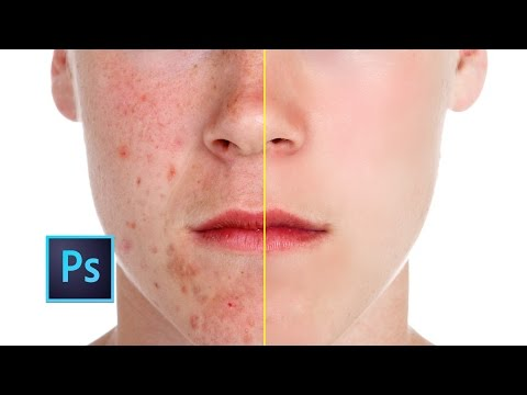Photoshop cc Tutorial: Smooth Skin (skin retouching)
