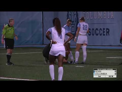 2017 NCAA Women's Soccer   Pennsylvania vs Columbia