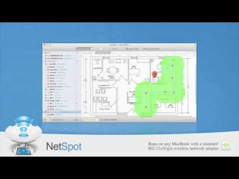 NetSpot Wifi Survey