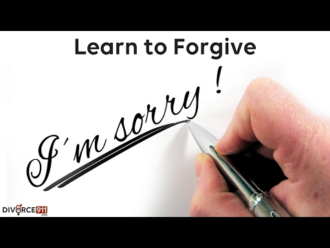 Divorce - Learn to Forgive