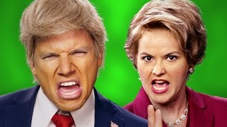 Donald Trump vs Hillary Clinton - ERB Behind the Scenes