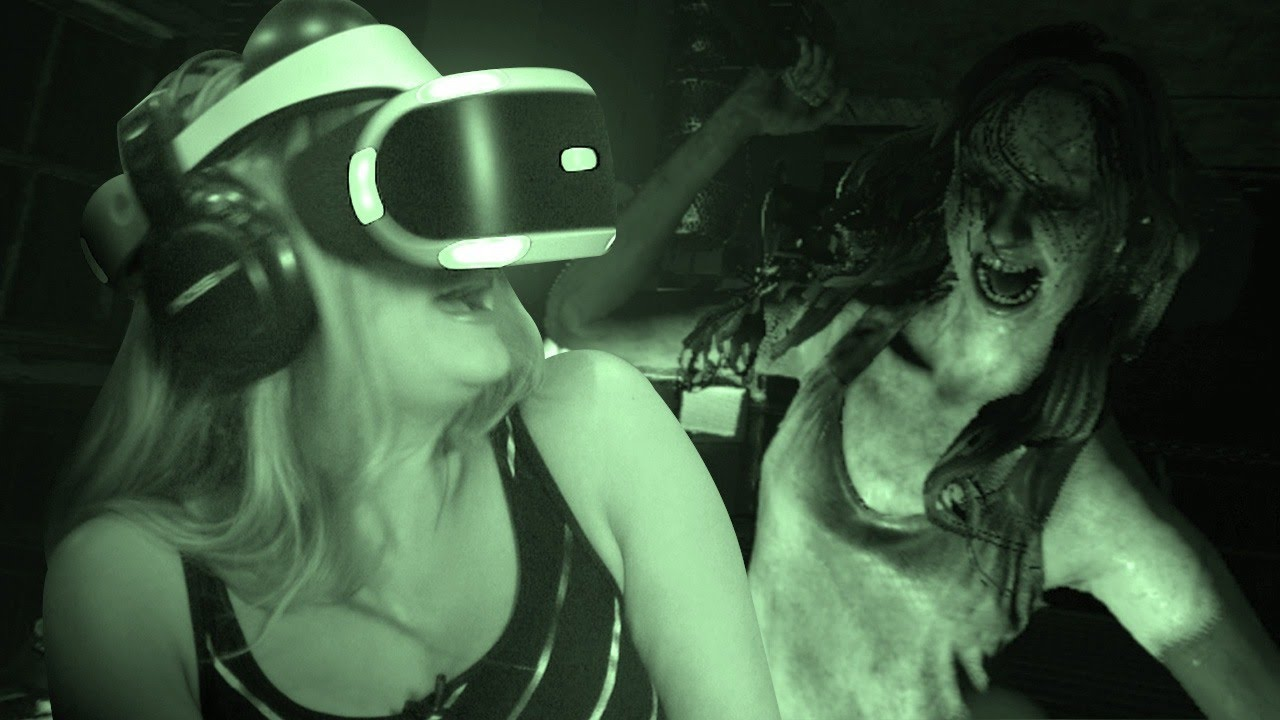 How Scary is The Resident Evil 7 Kitchen Demo in PS VR?