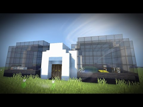 Minecraft PE | Modern Barn Speed Build Timelapse