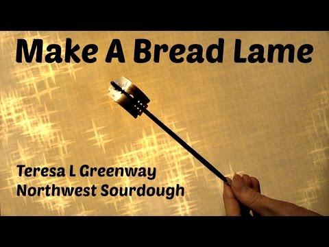 DIY - Make Your Own Bread Lame -Dough Scoring Tool