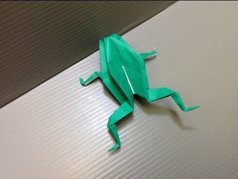 Daily Origami: 092 - Frog