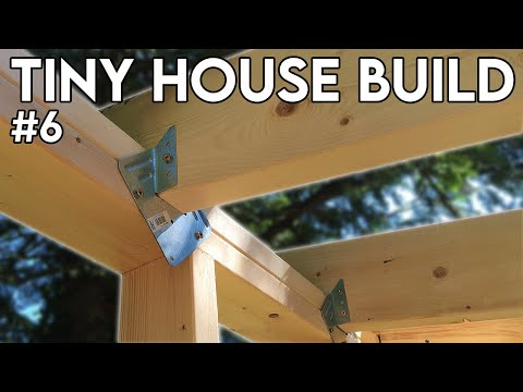 Roof Rafters & Loft Joists (Tiny House Build - Episode 6)