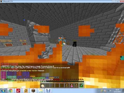 tigerbaite hacking on minetime prison #1