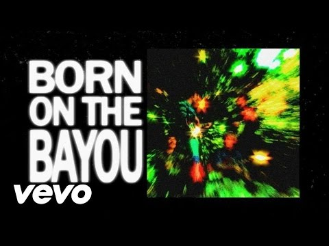 Creedence Clearwater Revival - Born On The Bayou (Lyric Video)