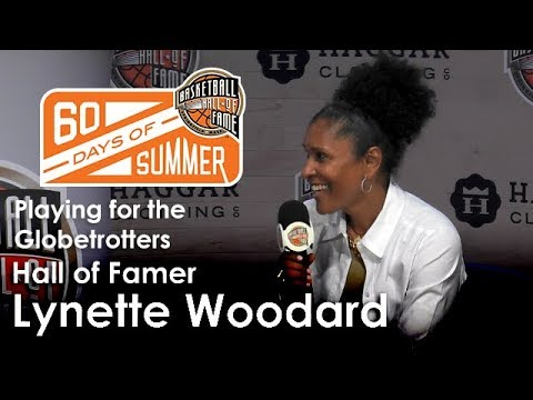 Lynette Woodard talks about playing for the Globetrotters