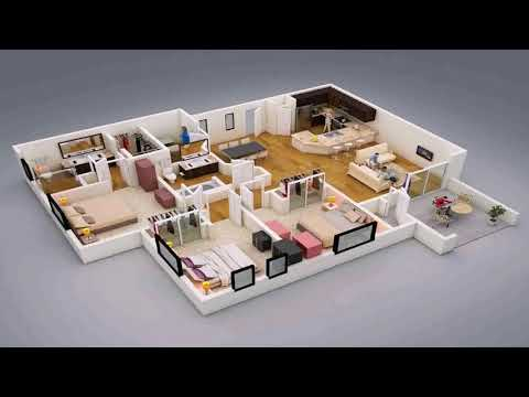 Small 3 Bedroom House Floor Plans