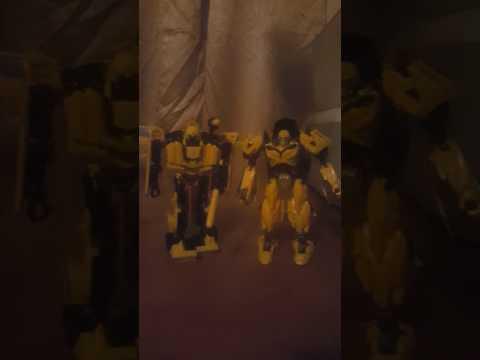 Transformers Movie 1 Deluxe 70's Camaro Bumblebee Part 2/2
