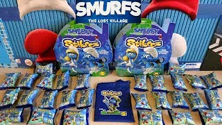 2017 Smurfs The Lost Village Stikeez Blind Bags 24 Surprise Figres to Collect in Europe