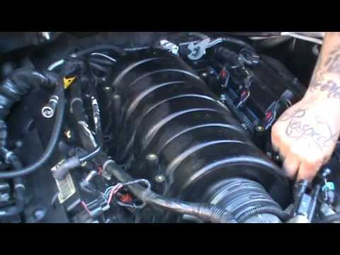 How To Change 2005 Cadillac STS Intake Manifold Part 2