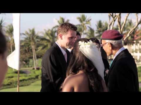 Marcus & Darshana - Western Wedding in Bali