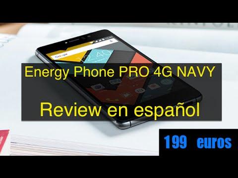 Energy Phone PRO 4G NAVY Review en español
