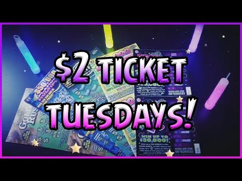 $2 TICKET TUESDAYS!! 5 DIFFERENT TICKETS! 💰 Florida Lottery Scratchers
