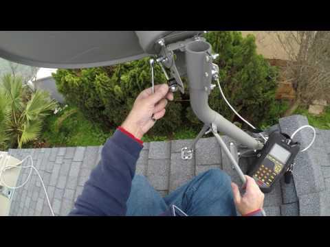 Directv Installation Part 4 reinstall