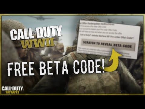 How To Get Free WW2 Beta Codes!
