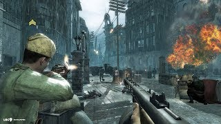 Heavy City Combat In Berlin ! In Beautiful Ww2 Game Call Of Duty World At War