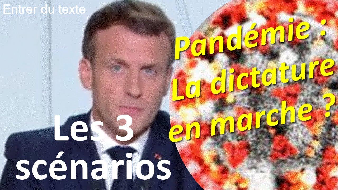 """La pandémie, l'état social et les trois scénarios français : la dictature """"en marche"""" ? L'ODIS"""