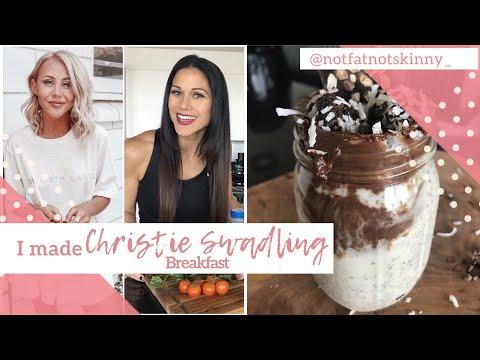 I made Christie Swadling Breakfast...It was bomb!!