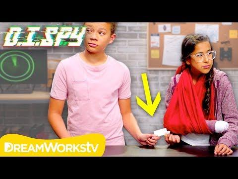 How to do a Secret Handoff (DIY Fake Arm)   D.I.SPY