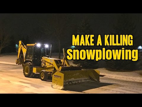 How to Make a Killing SnowPlowing