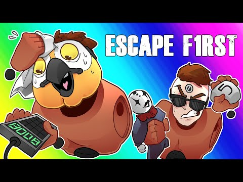 Escape First Funny Moments - Escaping the Clown's Quarters!