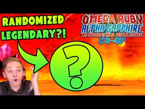 RANDOMIZED LEGENDARY POKEMON?!   Pokemon Omega Ruby Alpha Sapphire RANDOMIZER Nuzlocke Co-Op #18