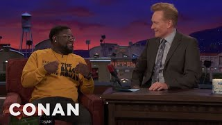 "Lil Rel Howery Grew Up Watching ""Late Night With Conan O'Brien""  - CONAN on TBS"