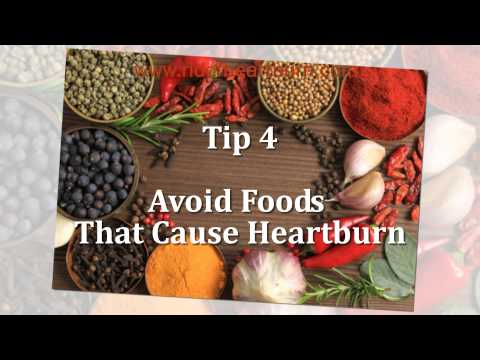 How To Stop Heartburn - 6 Easy Tips To Get Rid Of Heartburn