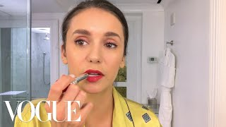 Nina Dobrev Does Her Day-To-Night BeautyRoutine | Beauty Secrets | Vogue