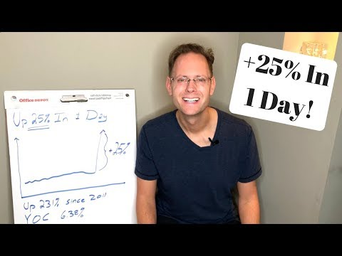 My Dividend Stock Is Up 25% In 1 Day (and I Can't Stand It)