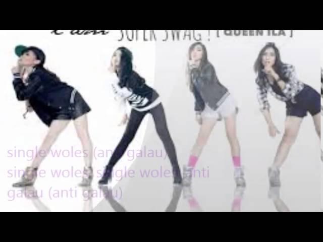 Cherrybelle I AM SUPER SWAG ( feat  adila ''queen ila'') ADA LIRIK LAGU Nya Lho