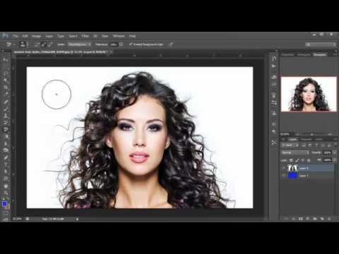 Photoshop Hindi tutorials, Episode #21, Wispy hair extraction
