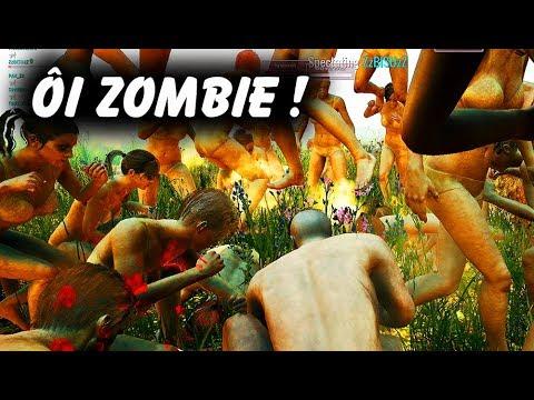 PUBG ZOMBIE: Team ĐỤT đụng độ TẬP ĐOÀN 100 XÁC SỐNG =))