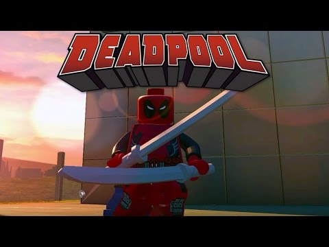 LEGO Marvel's Avengers - Deadpool Free Roam Gameplay (PC Mod)