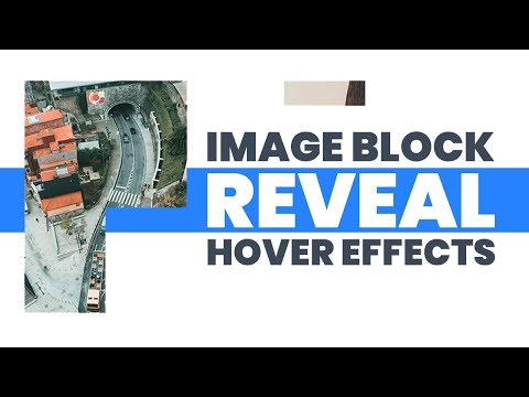 CSS Image Block Reveal Hover Effects   Html CSS