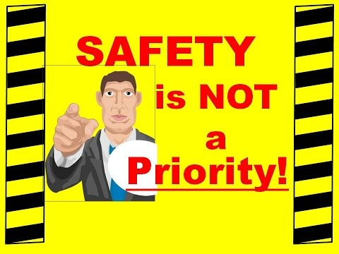 Safety is NOT a Priority - Safety Training Video - Preventing Workplace Accidents and Injuries