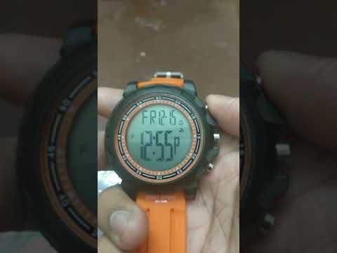 Change 24 hr to 12 hr time format in digital watch