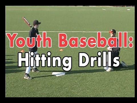 Coaching Youth Baseball: Hitting Drills